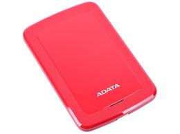 """Внешние жесткие диски и SSD - Внешний HDD A-DATA 2TB HV300 25"""" USB 3.1 красный…, 0"""