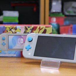 Игровые приставки - Nintendo Switch Lite (Pokemon) - Б.У (Обмен), 0