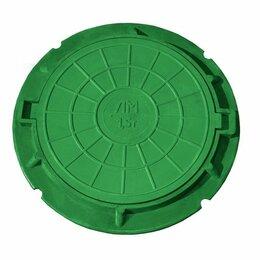 Комплектующие водоснабжения - Люк полимер-песчанный 750*90, 0