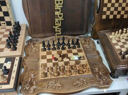Настольные игры - шахматы нарды шашки карты, 0