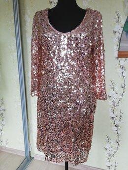 Платья - Вечернее платье с паетками, 0