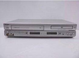 DVD и Blu-ray плееры - Видеопроигрыватель SHARP  NC 80  VHS+DVD, 0