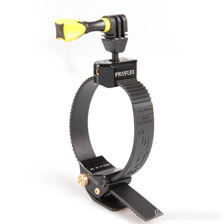 iSHOXS Proflex Black Крепление на трубу алюминий, 40-140 мм, поворотный шарнир по цене 2490₽ - Перфорированный крепеж, фото 0