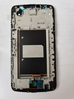 Дисплеи и тачскрины - Дисплей в сборе LG K10 LTE (K340ds) черный, 0