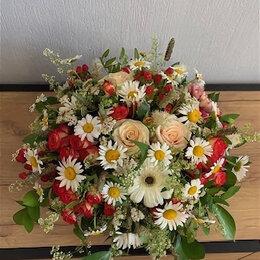 """Цветы, букеты, композиции - Композиция из свежих цветов """"Летняя"""", 0"""