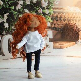 Сувениры - Интерьерная кукла с рыжими волосами, 0