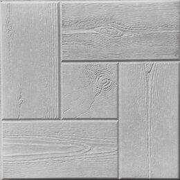 Тротуарная плитка, бордюр - Тротуарная плитка 300*300*30 калифорния дерево серая, 0