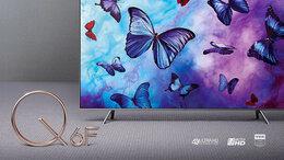 Телевизоры - 4K QLED Smart TV Samsung QE49Q6FNA Tizen Wi-Fi, 0