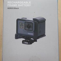 Аксессуары для экшн-камер - Аккумулятор для экшен-камеры GoPro5-7 Sinomax SM-GP-FB5 2400mah, 0