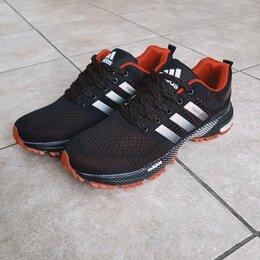 Кроссовки и кеды - Кроссовки Adidas Marathon мужские черные А1004, 0