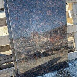 Облицовочный камень - Гранит Тан браун коричневый, 0