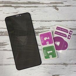 Защитные пленки и стекла - Защитное стекло Антишпион iphone 11pro/x, 0
