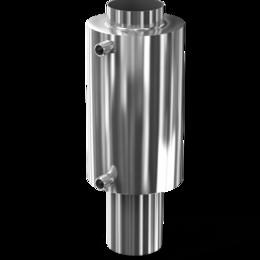 Дымоходы - 10л теплообменник для дымохода D115 из…, 0