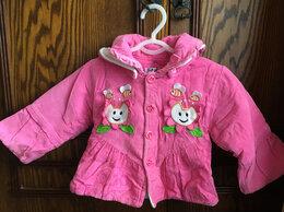 Куртки и пуховики - Курточка для девочки, 0