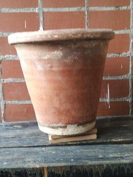 Декоративная посуда - горшок глиняный, 0