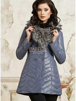 Пальто - Стеганое кожаное пальто, 0