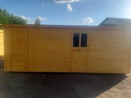 Готовые строения - Бытовка деревянная новая 6х2.30 А-498, 0