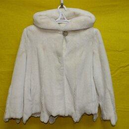 Шубы - Шуба норковая (Белая) размер 44-46, 0