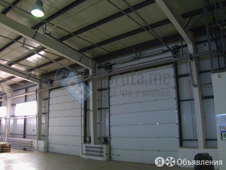 Противопожарные секционные ворота для промышленных объектов по цене 36204₽ - Заборы, ворота и элементы, фото 0