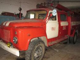 Спецтехника и навесное оборудование - Пожарный автомобиль ГАЗ 53, 0