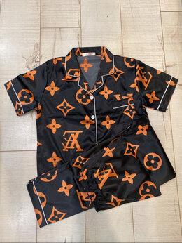 Домашняя одежда - Новая женская пижама домашний костюм, 0