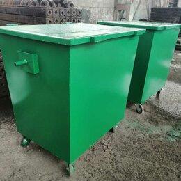 Мусорные ведра и баки - Контейнер мусорный 1,1 м3 для ТБО, 0