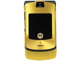 Мобильные телефоны - Motorola RAZR V3i gold, 0