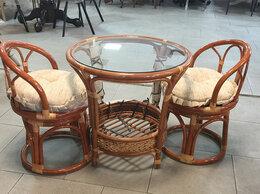 Столы и столики - Комплект мебели из натурального ротанга, 0