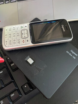Радиотелефоны - Радиотелефон Gigaset SL450H, 0