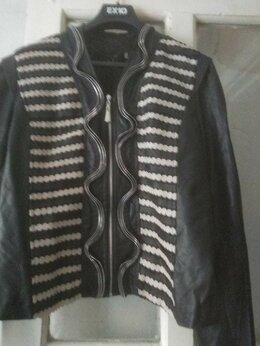 Куртки - Куртка кожаная, 0