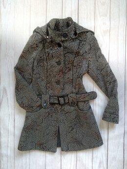 Пальто - Пальто серое 42 , 0