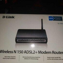 Оборудование Wi-Fi и Bluetooth - Роутер DSL-26400, 0