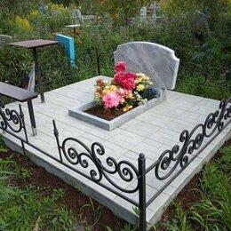 Ритуальные товары - Памятники плитка на кладбище, 0