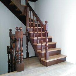 Лестницы и элементы лестниц - лестница из массива дерева, 0
