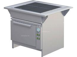 Промышленные плиты - Плита электрическая ATESY ЭПШЧ 9-4-18-Э Алента, 0