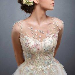 Платья - Шикарное свадебное платье Акварель, 0