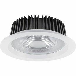Встраиваемые светильники - Светильник встраиваемый светодиодный 20W,…, 0