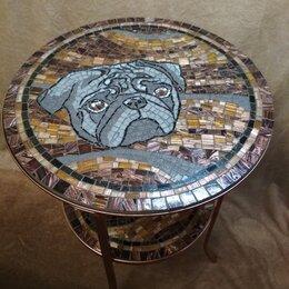 Столы и столики - Стол, журнальный, кофейный- мозаика.Круглый., 0