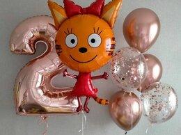 Воздушные шары - Набор шаров с цифрой и Карамелькой, 0