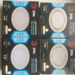 Настенно-потолочные светильники - Светильник встраиваемый светодиодный., 0