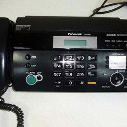 Системные телефоны - Факс Panasonic KX-FT988RU, 0