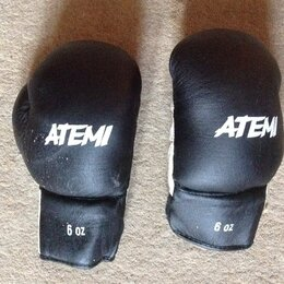 Боксерские перчатки - Детские боксерские перчатки Atemi 6 oz, 0