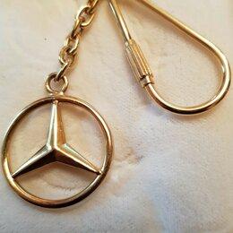 Брелоки и ключницы - Золото, проба 750 (Брелок-Знак мерседеса), 0