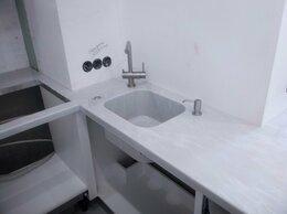 Мебель для кухни - Столешница с кухонной мойкой из искусственного…, 0