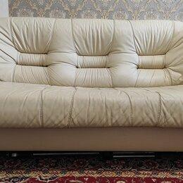 Диваны и кушетки - диван кожаный натуральный, 0