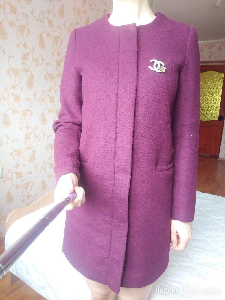 Пальто фиолетовое р42-44 по цене 930₽ - Пальто, фото 0