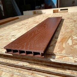 Древесно-плитные материалы - Террасная доска из ДПК Faynag Premium ALBERO Шоколад, 0