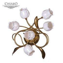 Люстры и потолочные светильники - Бра Chiaro Иоланта 321020306, 0
