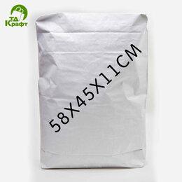 Пакеты - Мешок Клапанный (Закрытые) 58х45х11 см (белый), 0