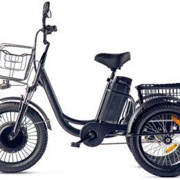 Велосипеды - Трицикл Eltreco Porter Fat 500 UP! (Черный-2413), 0